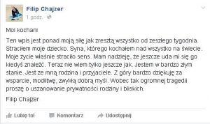 chajzer_oswiadczenie