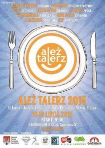 plakat Ależ Talerz 2015