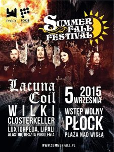 plakat Summer Fall Festival 2015