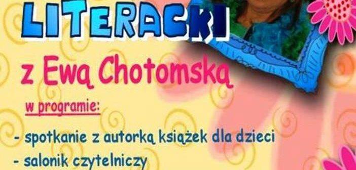 plakat pikniku z Ewą Chotomską