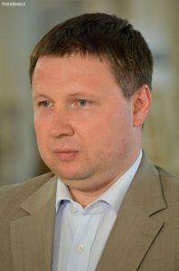 """""""Marcin Kierwiński Sejm 2014"""", fot. Adrian Grycuk"""
