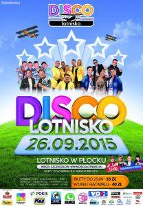plakat Disco Lotnisko