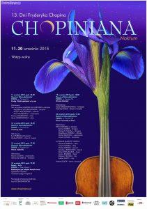plakat Chopiniana 2015
