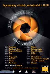Spotkania Filmowe wrzesień - grudzień 2015