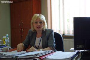Eliza Dygas, Kierownik Działu Świadczeń Rodzinnych MOPS