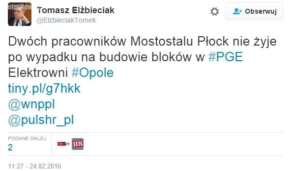 Wypadek Mostostal