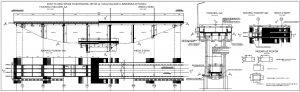 Schemat istniejącego mostu, fot. dokumentacja przetargowa