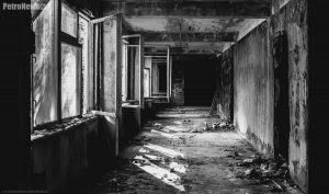 Budynek w Czarnobylu