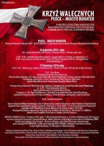 Krzyż walecznych Płock Miasto Bohater