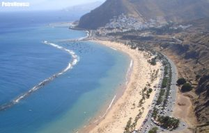 Plaża na Teneryfie. Fot. Wikipedia