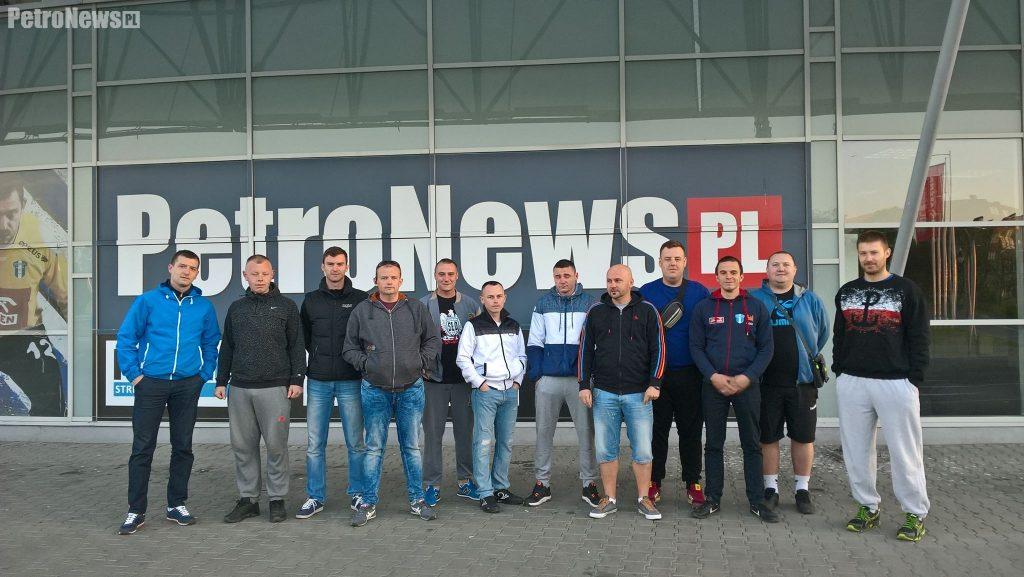 Zawodnicy Handball Płock przed wyjazdem do Gdańska
