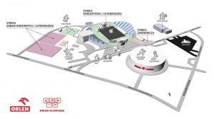 Mapka Orlen Olimpiady, źródło PKN Orlen
