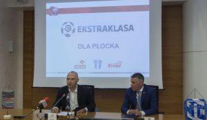 Rafał Pasieka, dyr. ds. marketingu PKN Orlen i Jacek Kruszewski, prezes Wisły Płock