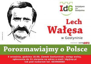 Lech Wałęsa w Gostyninie