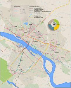 W Płocku mamy ok. 45 km dróg rowerowych. To trzy razy więcej niż 5 lat temu