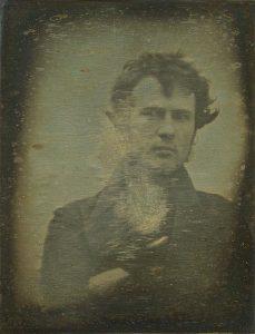 Robert Cornelius, Autoportret, źródło: Wikipedia