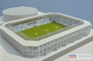 Wizualizacja stadionu w Radomiu, źródło: radom.pl