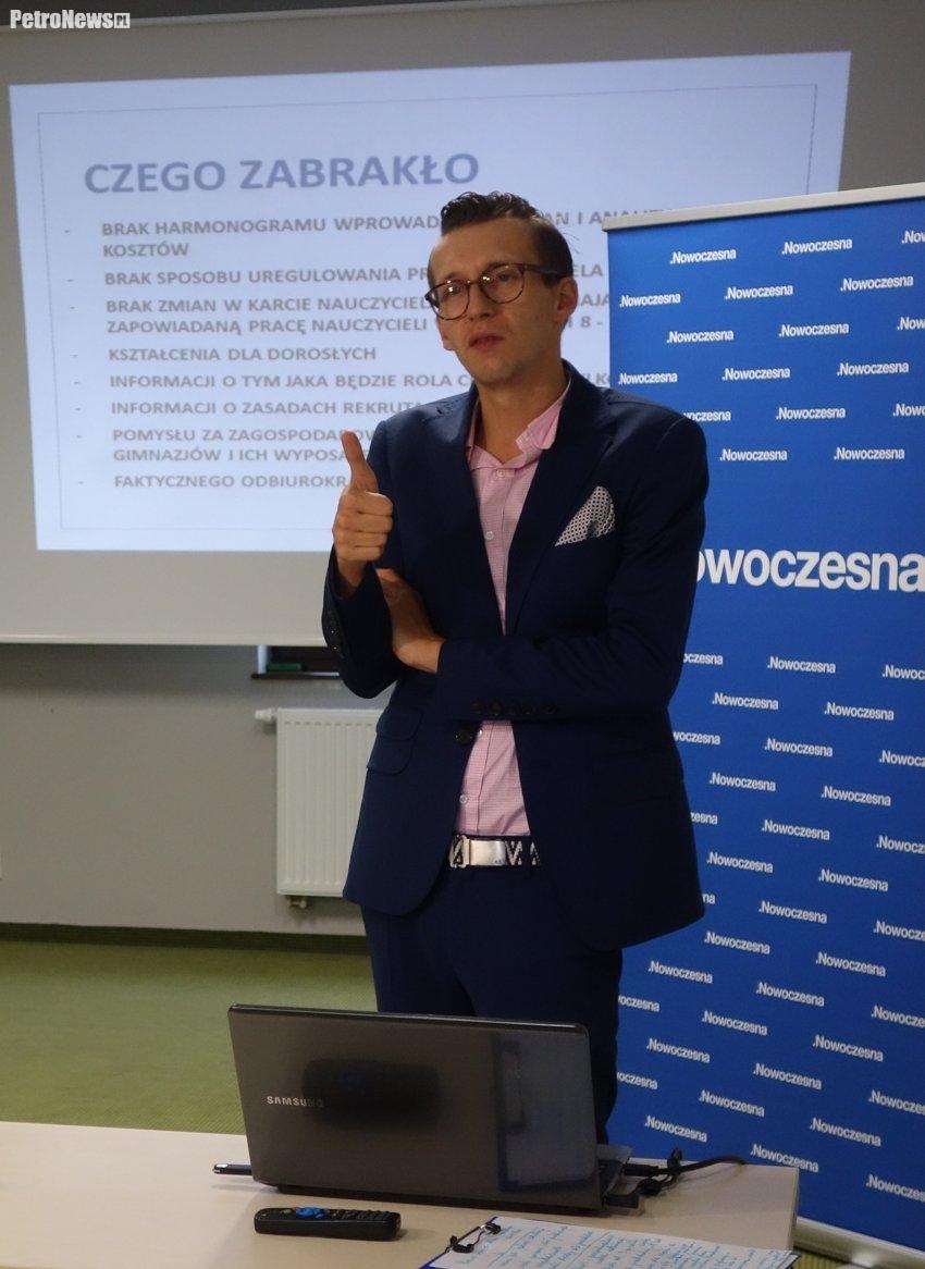 Dominik Linowski, fot. Magda Grodecka