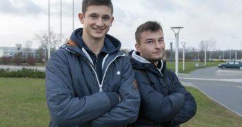 Sebastian i Maciek - współorganizatorzy turnieju, fot. PetroNews