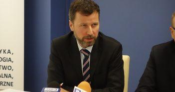 Rektor PWSZ Maciej Słodki, Fot. Joanna Winiarska