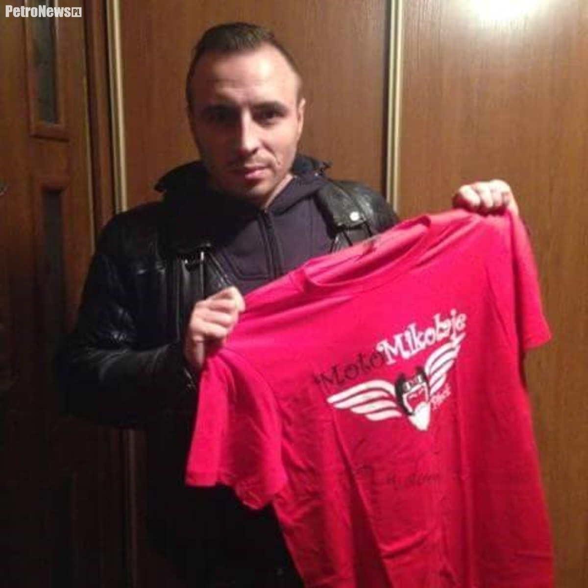 Czadoman - koszulkę z jego autografem wylicytujecie już wkrótce na naszym portalu