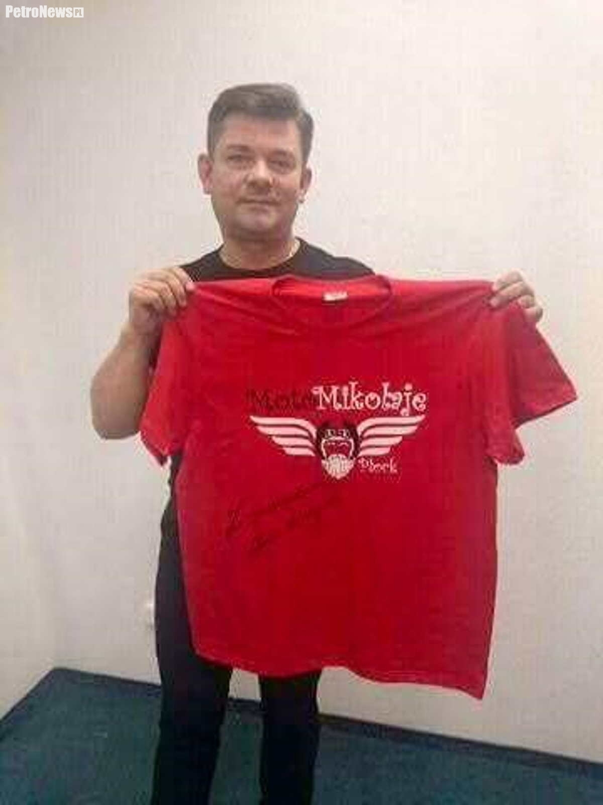 Zenek Martyniuk - koszulka z jego autografem będzie dostępna już wkrótce na naszym portalu