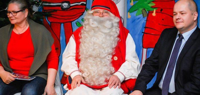 Święty Mikołaj z Laponii gości w Płocku