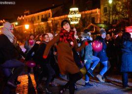 Walentynkowy taniec przeciw przemocy