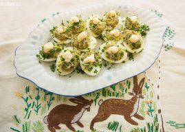 Mariola gotuje: Jajka faszerowane szprotkami