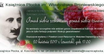 Obchody roku Leśmiana, kuchnia flisaków i promocja książki w Książnicy