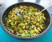 Mariola gotuje: Bób z soczewicą i ziołami