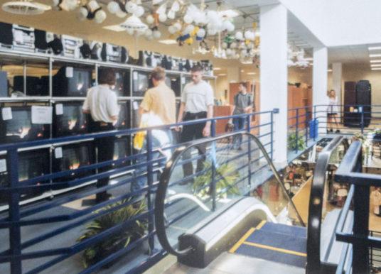 Gdzie były pierwsze płockie ruchome schody?