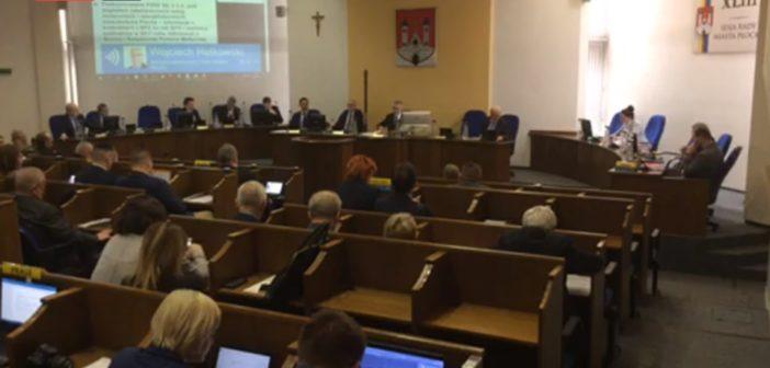 XLIII Sesja Rady Miasta Płocka na żywo