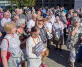Seniorzy przemaszerowali przez Płock