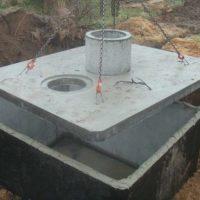 szamba zbiorniki betonowe atest transport montaż 5-letnia gw
