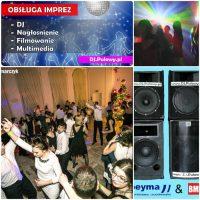 DJ, Oprawa Muzyczna Imprez, Nagłośnienie, Wynajem Sprzętu, D