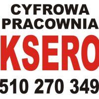 KSERO/ WYDRUK A5-A0