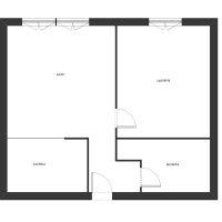 Mieszkanie na sprzedaż Bielska, 36 mkw, VIp, cena: 130.000