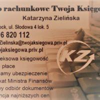 Biuro rachunkowe Twoja Księgowa Katarzyna Zielińska
