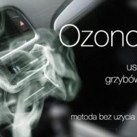 Ozonowanie- usuwanie zapachów, dezynfekcja